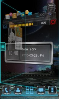 Next Clock Widget screenshot 2