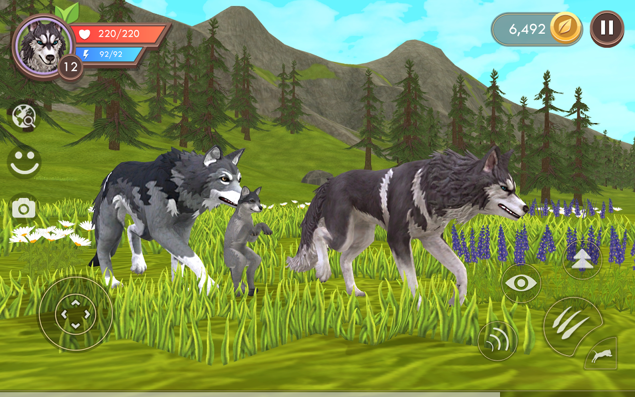 WildCraft: Animal Sim Online 3D screenshot 2
