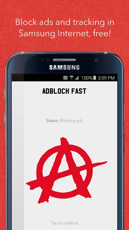Adblock Fast screenshot 1