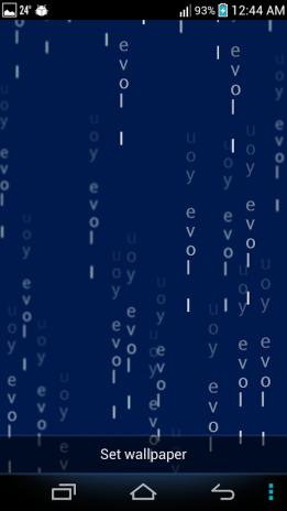 Matrix Live Wallpaper Screenshot 6