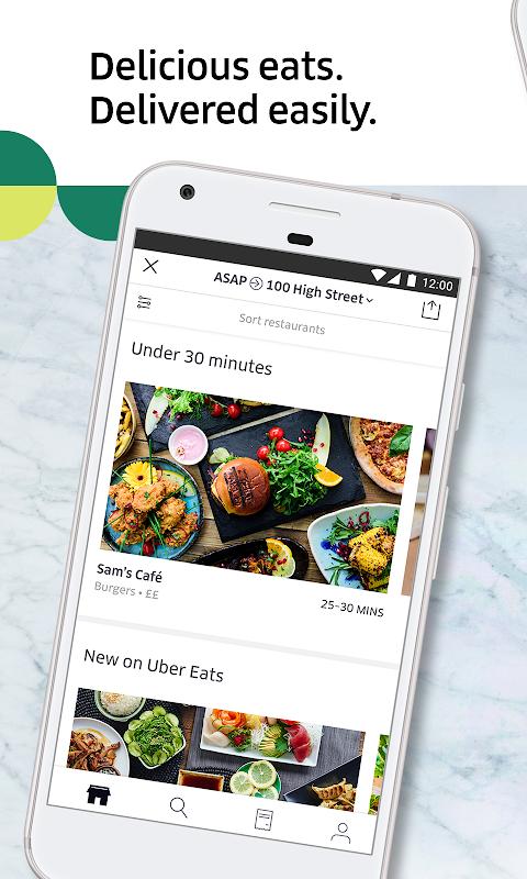 Uber Eats: Local food delivery screenshot 1