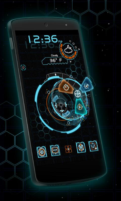 Jarvis Theme Android