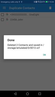 Duplicate Contacts screenshot 8