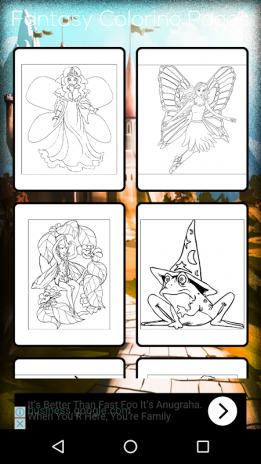 Fantasy Coloring Book Screenshot 1