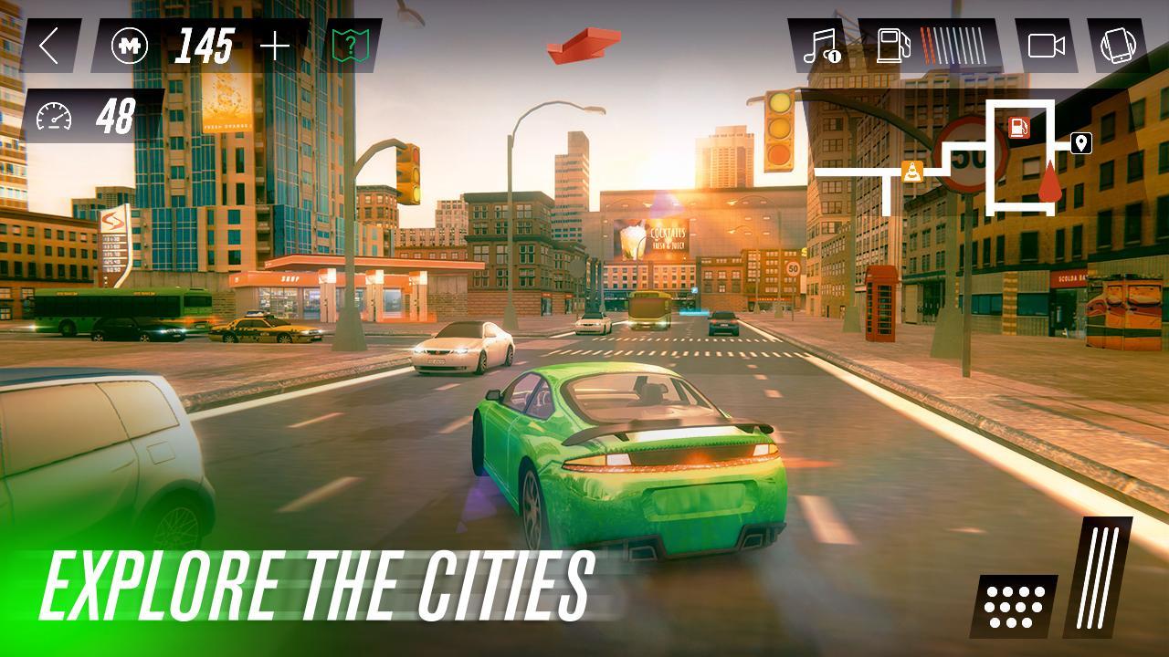 Condução De Carro Simulador screenshot 1