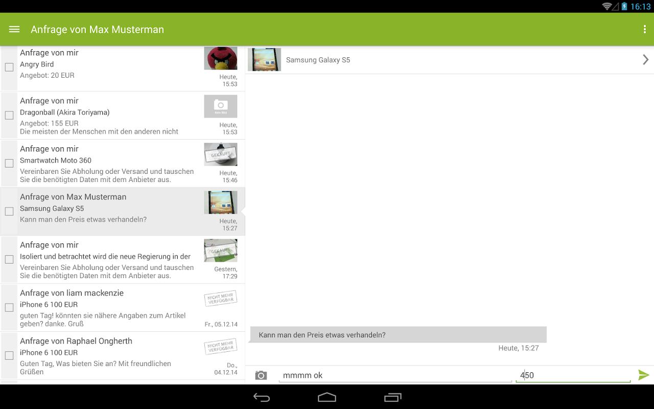 eBay Kleinanzeigen screenshot 2