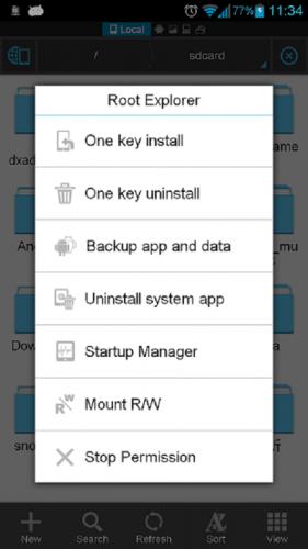 ES Datei Explorer screenshot 7