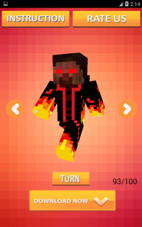 Mob Skins For Minecraft PE Download APK For Android Aptoide - Skins para minecraft pe de spiderman