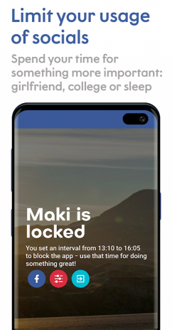 Maki: Facebook and Messenger in one awesome app 3 9 7 Sakura
