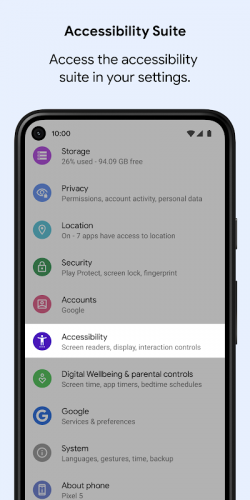 Android Accessibility Suite screenshot 4