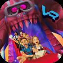 VR Temple Amusement Park - Roller coaster fun