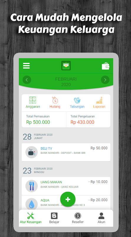 Keuangan Keluargaku Manajer Keuangan Keluarga 2 1 5 Baixar Apk Para Android Aptoide