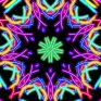 magic paint kaleidoscope icon