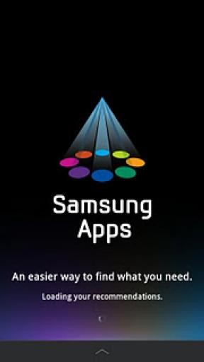 Samsung Apps screenshot 1