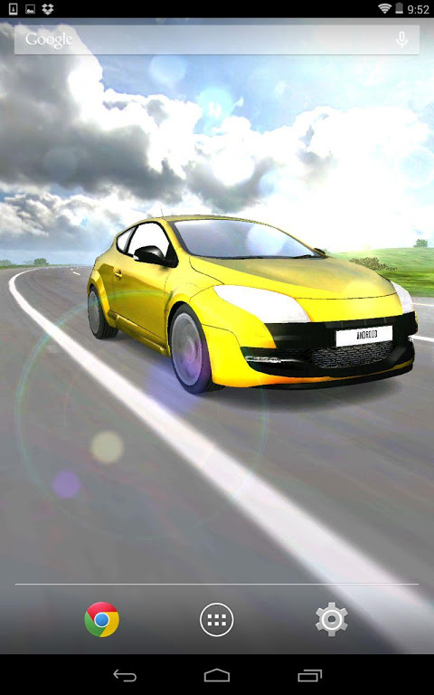 Captivating ... 3d Car Live Wallpaper Screenshot 6