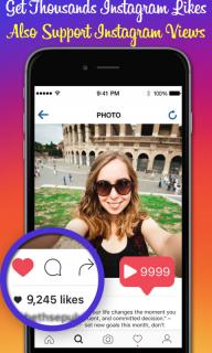 Instagram Likes - Get Free Insta Like for Instagram & IG