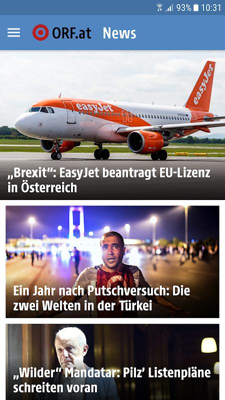 ORF.at News screenshot 1