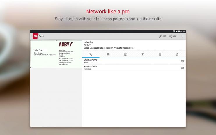Business card reader free 4905 baixar apk para android aptoide business card reader free captura de tela 5 reheart Choice Image