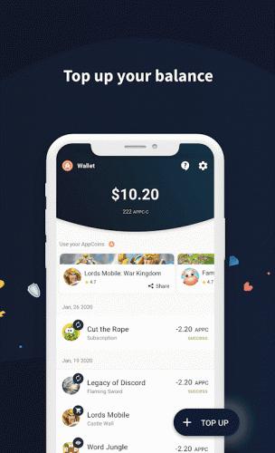 AppCoins Wallet screenshot 5
