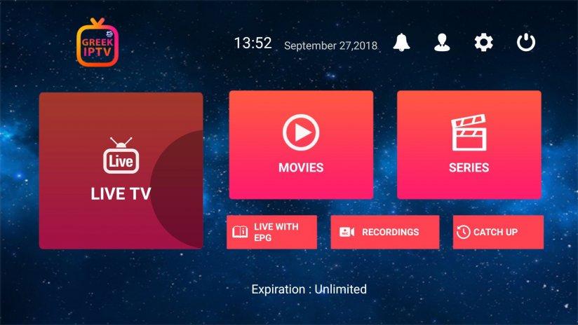 Greek IPTV 1 6 9 1 Download APK for Android - Aptoide