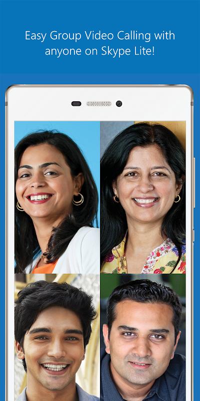 Skype Lite - Free Video Call & Chat screenshot 3