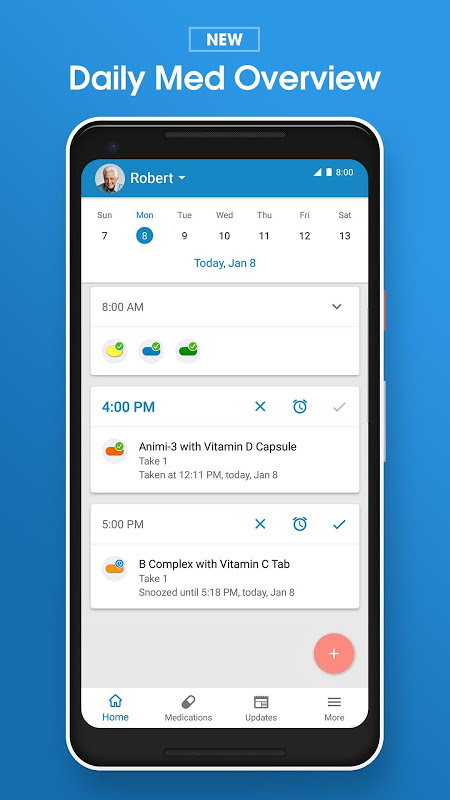 Pill Reminder and Medication Tracker by Medisafe screenshot 2
