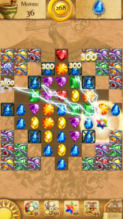Clash of Diamonds - Match 3 Jewel Games screenshot 3