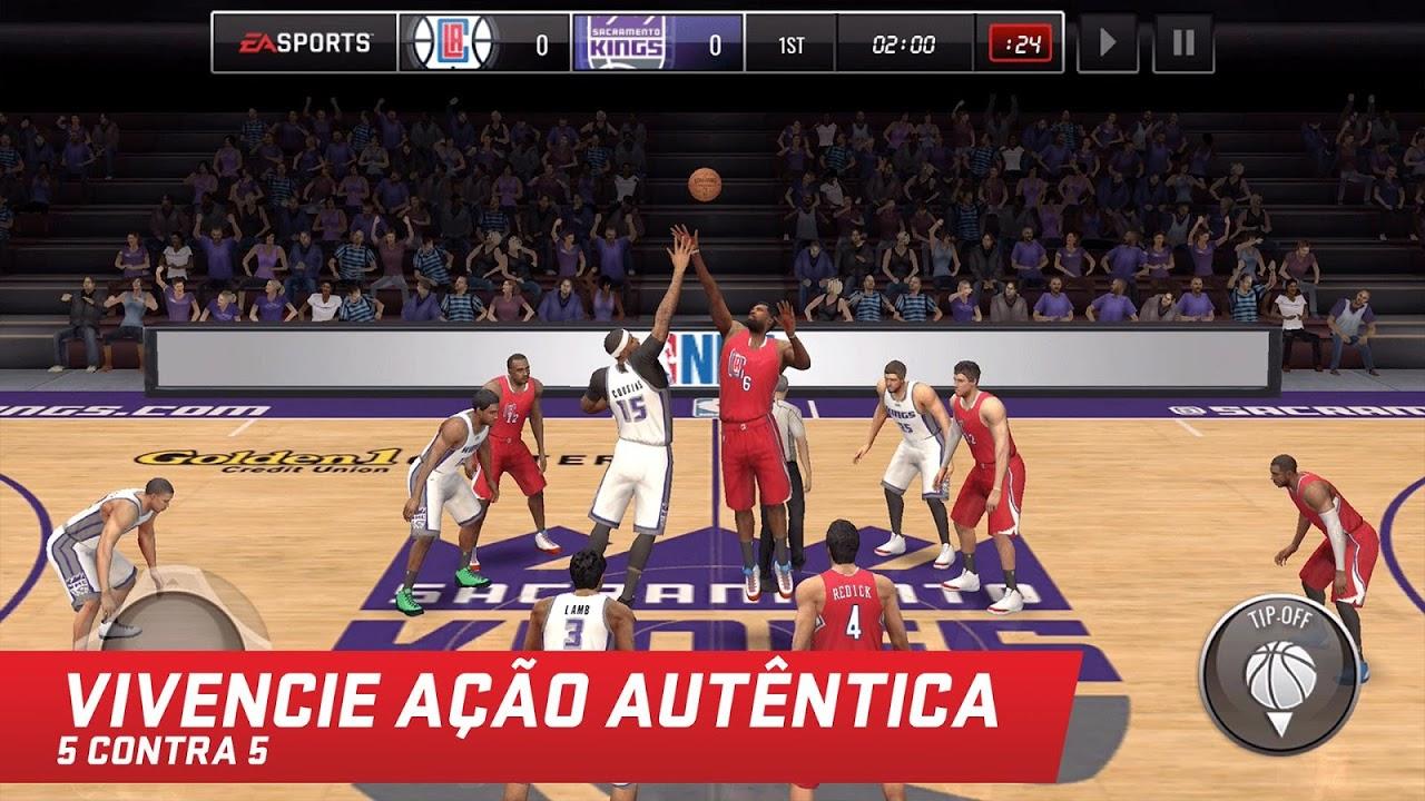 NBA LIVE Mobile Basquete screenshot 2