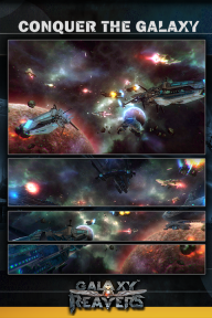 Galaxy Reavers - Space RTS screenshot 1
