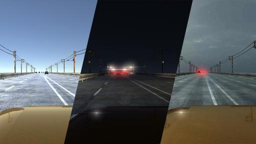 VR Racer - Highway Traffic 360 (Google Cardboard) screenshot 1
