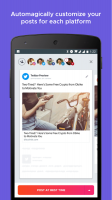 Crowdfire: Social Media Manager Screen