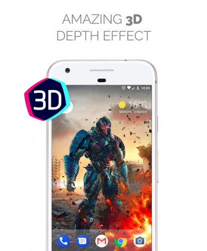 Live Wallpapers Parallax Hologram 4k Hd 1 6 8 Download Android Apk Aptoide