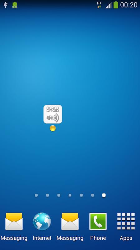 Widget for Radardroid Pro screenshot 2