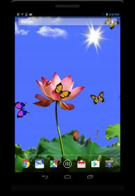 Butterfly 2 live wallpaper screenshot 5