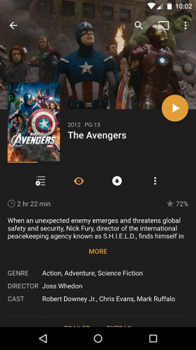 Plex: Stream Movies, Shows, Music, and other Media screenshot 19
