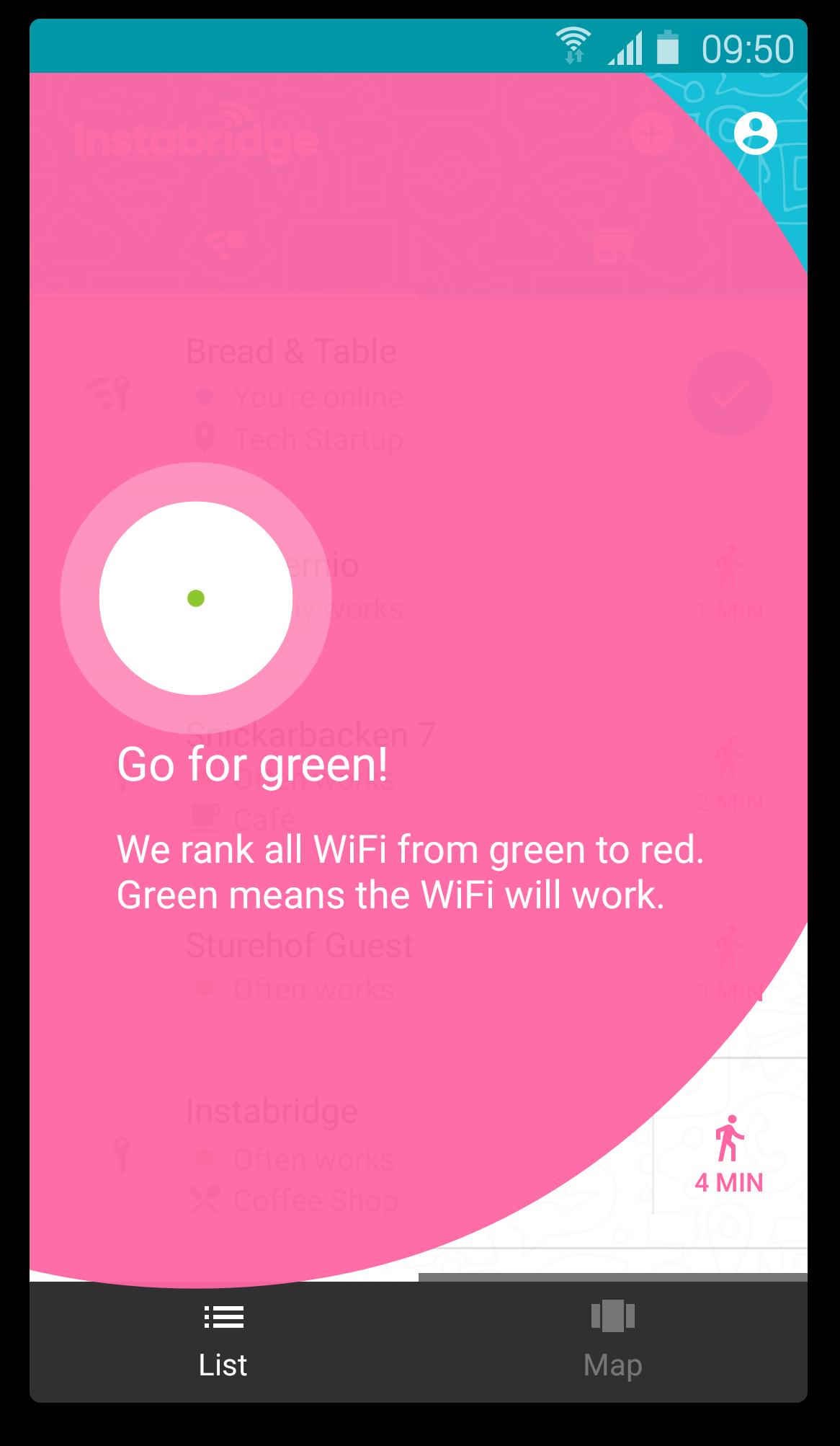 Instabridge - Wifi Grátis screenshot 2