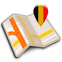 Map of Belgium offline