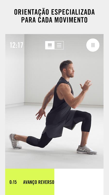 Nike Training Club – Treinos & Exercícios Fitness screenshot 2