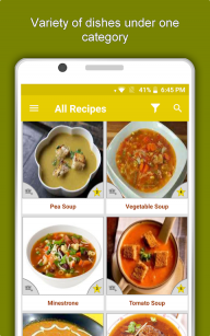 Soup & Curry Recipes: Healthy Nutritious Diet Tips screenshot 7