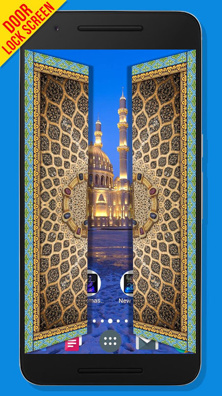 Mosque Door Lock Screen Screenshot 1 Mosque Door Lock Screen Screenshot 2  ...