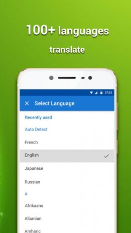 Translate all language : text and voice 1 3 3 Download APK