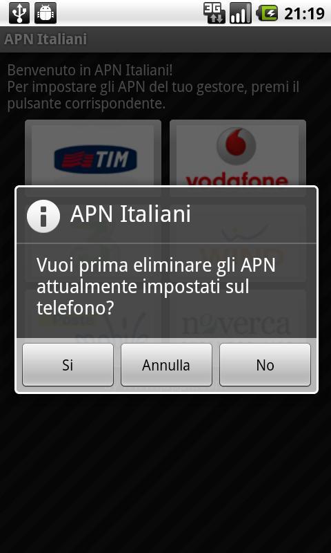 apn italiani
