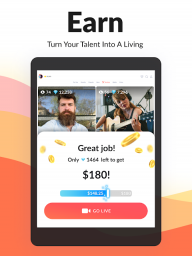 Tango – Live Streams & Live Video Chats: Go Live screenshot 6
