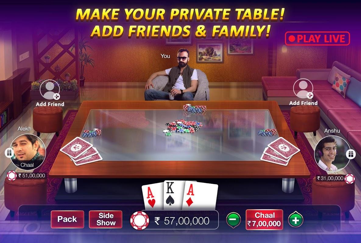 Teen Patti Gold - With Poker & Rummy screenshot 5