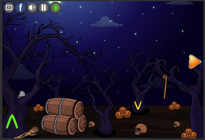 new escape games 187 halloween party 2017 screenshot 5