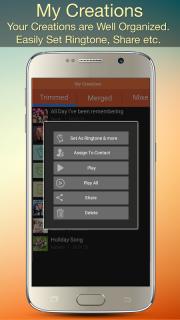 Audio MP3 Cutter Mix Converter screenshot 1
