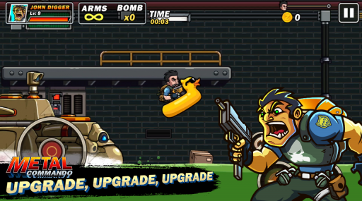Metal Commando - Squad Metal Shooter screenshot 4