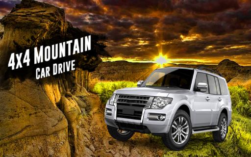 4x4 Mountain Car Driving 2017 screenshot 1