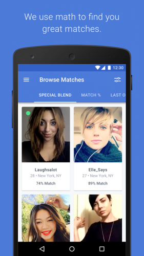 Okcupid browse matches