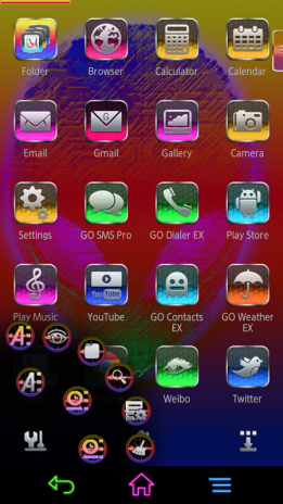 Next Launcher Alien[Color Mix] 1 0 Download APK for Android